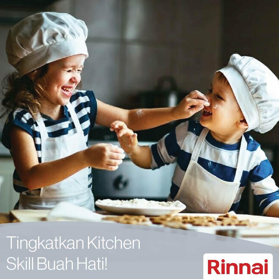Tingkatkan Kitchen Skill Buah Hati Anda!