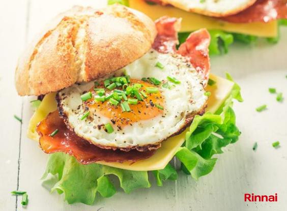 Sarapan Sehat dengan Menu Egg & Cheese!