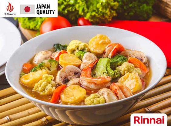Resep Sapo Tahu Seafood Lezat Ala Rinnai